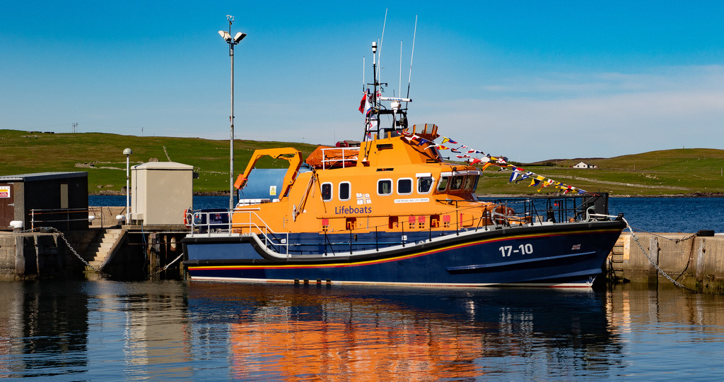 Lerwick Lifeboat by lifeat60degrees