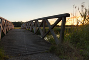 8th Jun 2019 - Wooden bridge at sunset