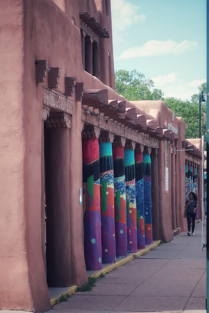 The Museum of Contemporary Native Art in Santa Fe, New Mexico by louannwarren