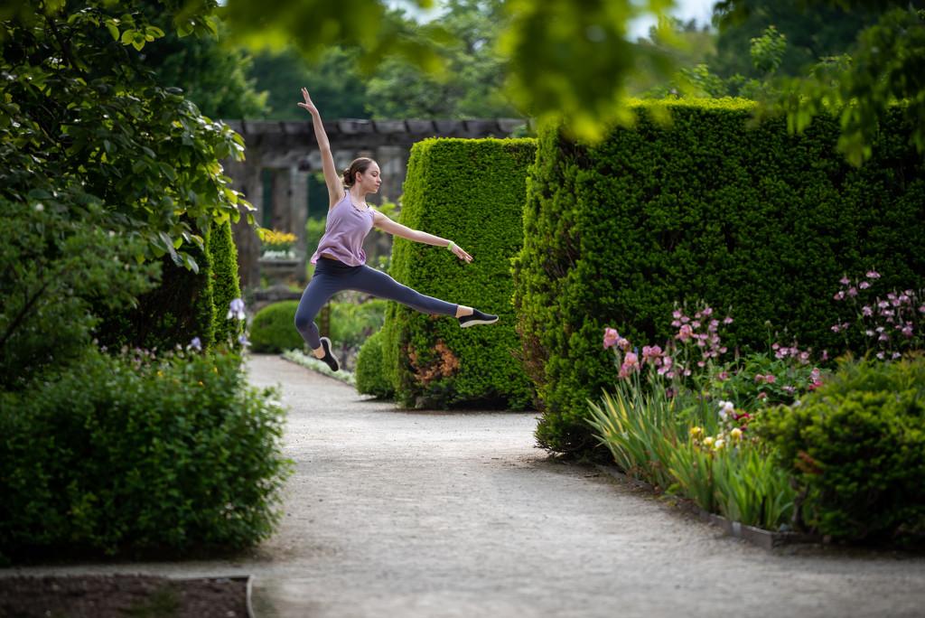 Leap in the garden by myhrhelper