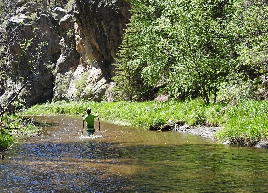 River Hiker by janeandcharlie