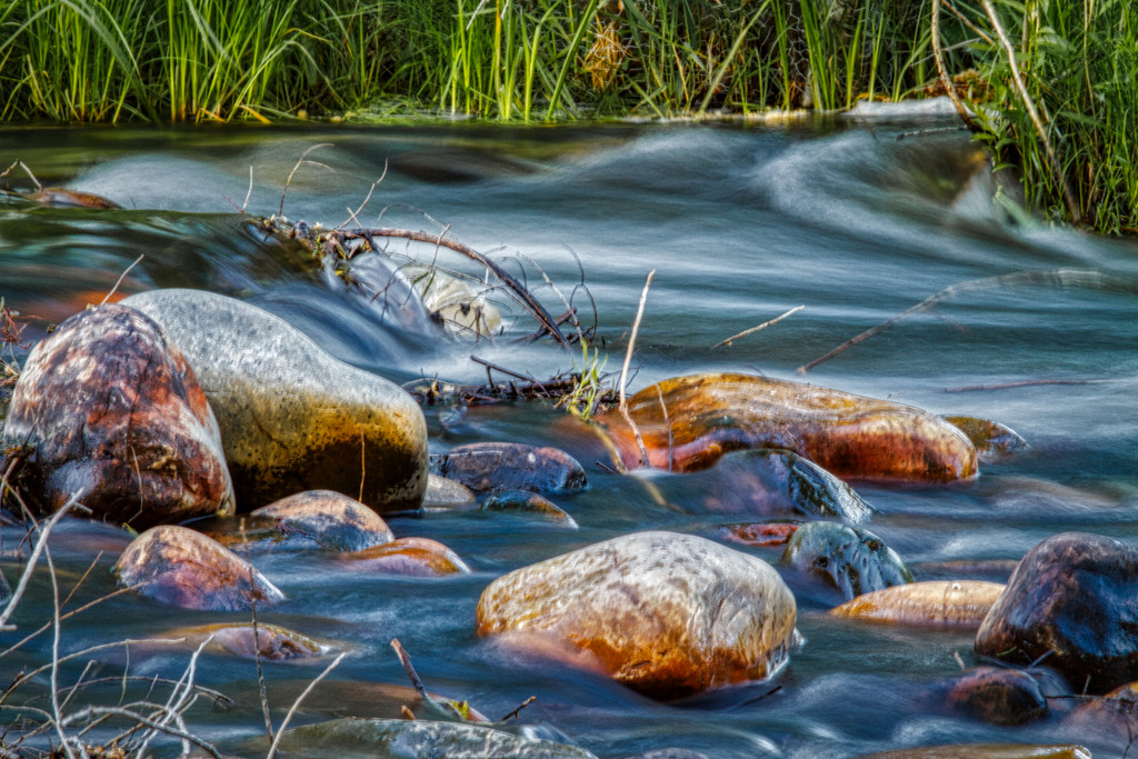 Rocks and Water by kvphoto