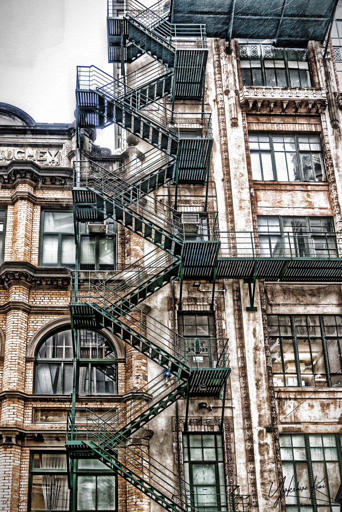 Fire Escapes by yorkshirekiwi