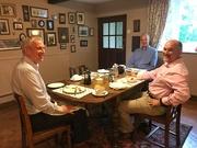11th Jun 2019 - Richard, Colin & Andy....Martin has gone already!
