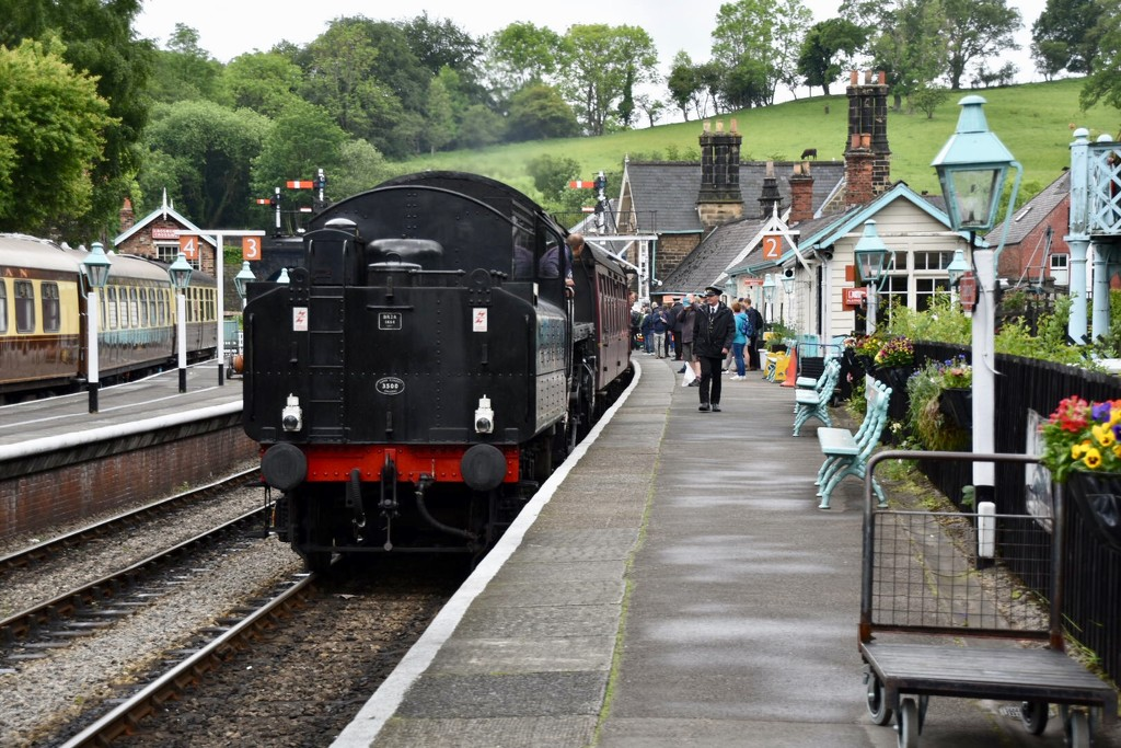 Grosmont Station by gillian1912