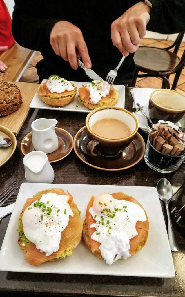 Brunch at Evelina's Patisserie by boxplayer
