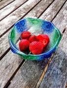 3rd Jun 2019 - Garden strawberries