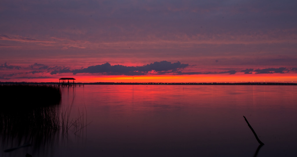 Tonight's Sunset on the St John's River! by rickster549