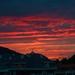 Sunset over Castro