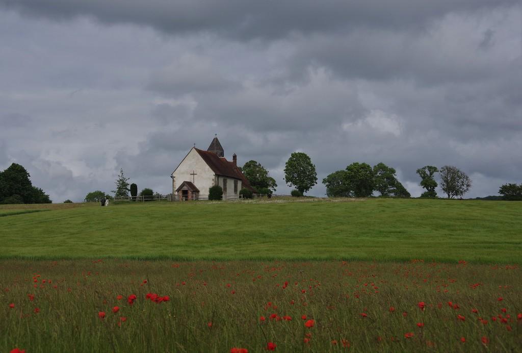 Idsworth Church by 30pics4jackiesdiamond