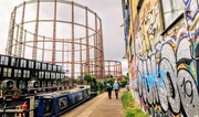 16th Jun 2019 - Gasholders from the Regent's Canal