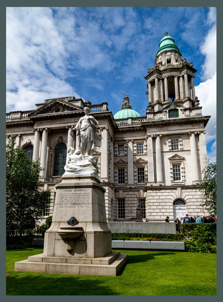 Titanic Memorial and City Hall by hjbenson