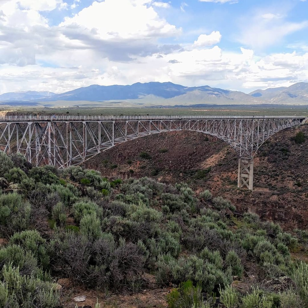 Rio Grande Gorge Bridge by harbie