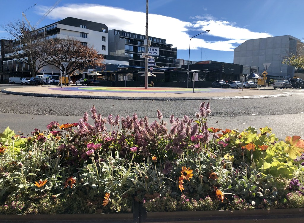 Rainbow Roundabout by nicolecampbell