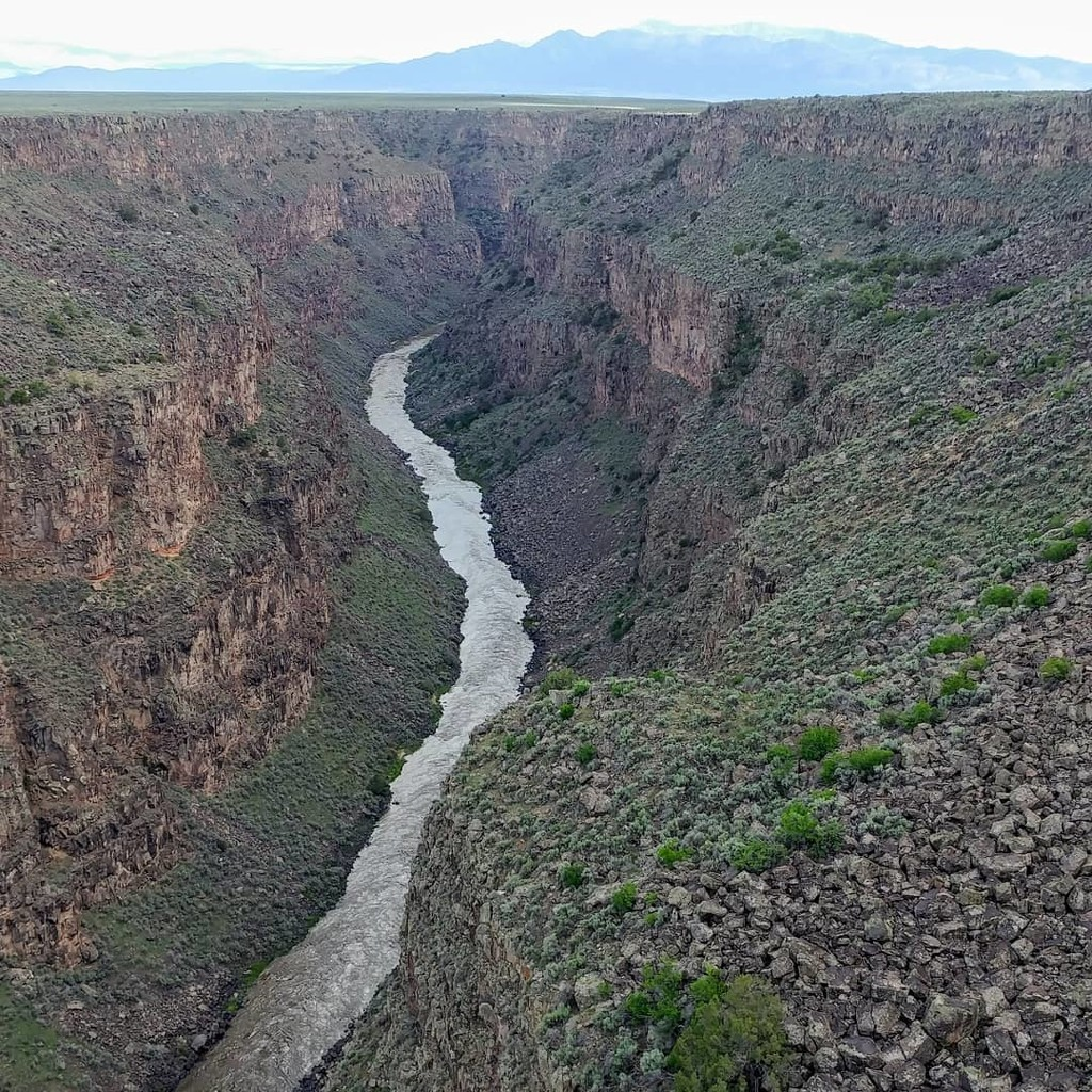 Rio Grande River and Gorge by harbie