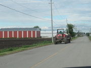 18th Jun 2019 - Tractor with flatbed trailer