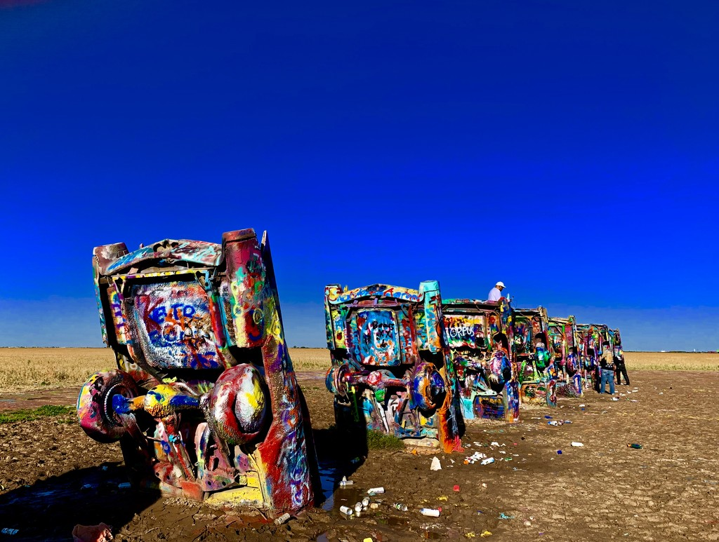 The Cadillac Ranch  by louannwarren
