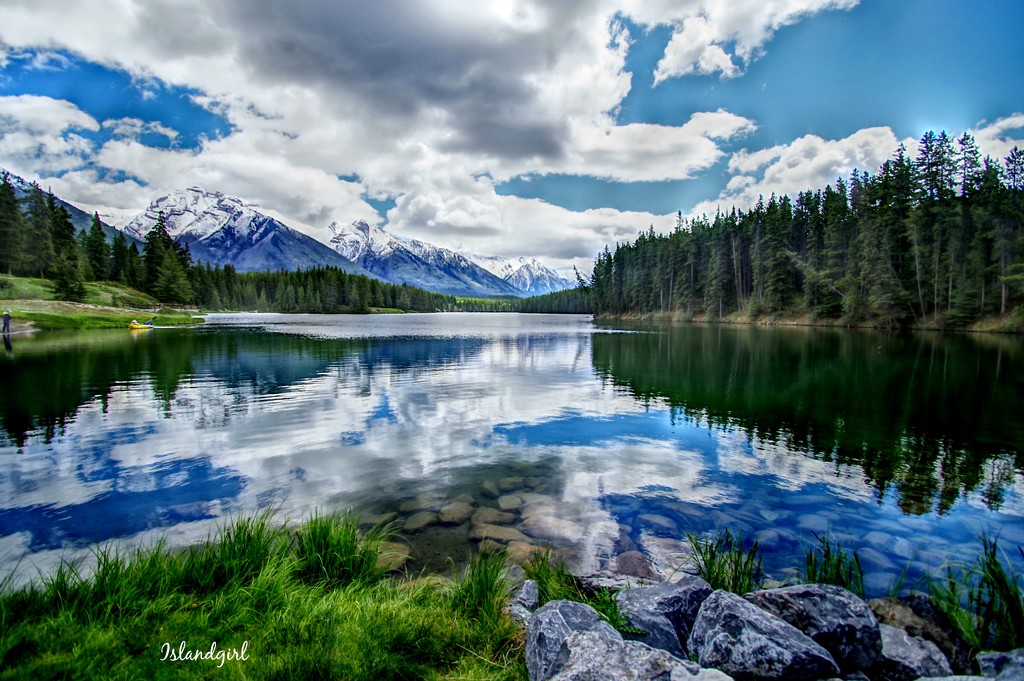 Two Jack Lake  by radiogirl