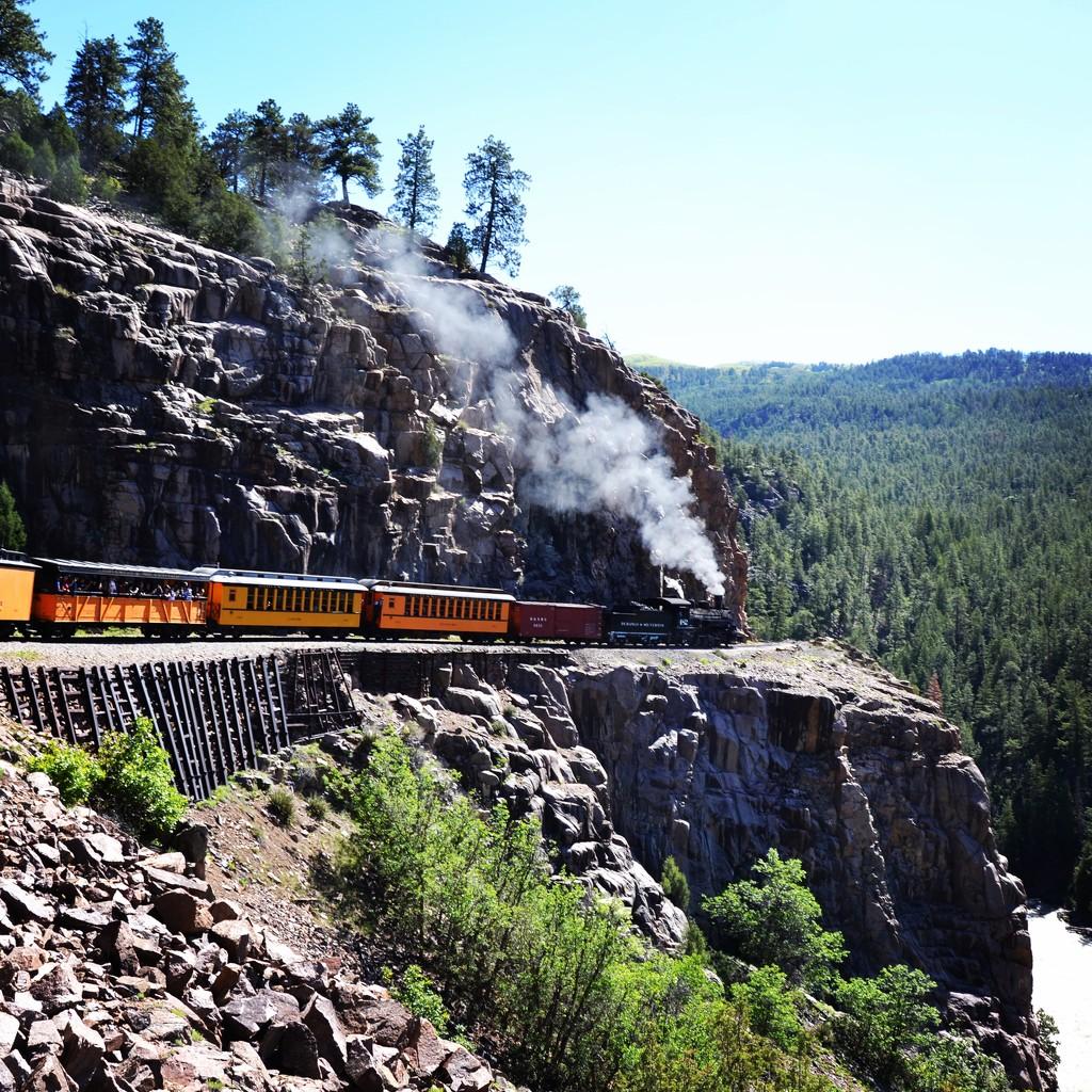 The Durango Silverton Narrow Gauge Railroad by louannwarren