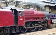 21st Jun 2019 - The Big Red Engine goes to the Seaside