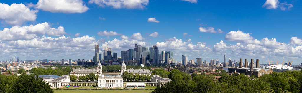 Greenwich panorama by peadar