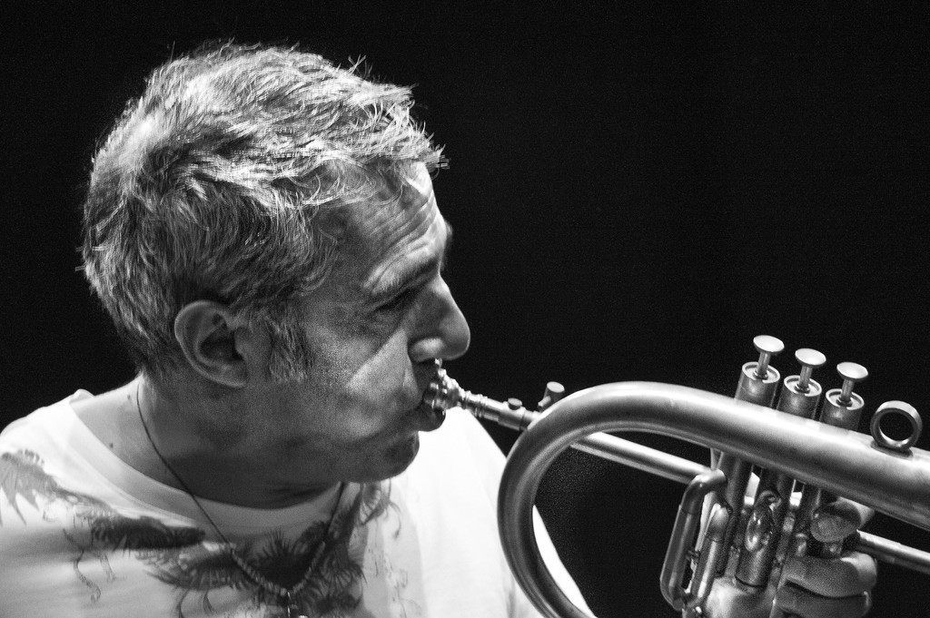 Paolo Fresu Trumpet by caterina