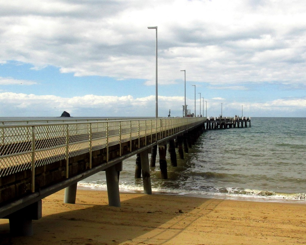 Fishing Jetty Palm Cove by robz