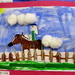 The show is all about horses!!, collage by a school child