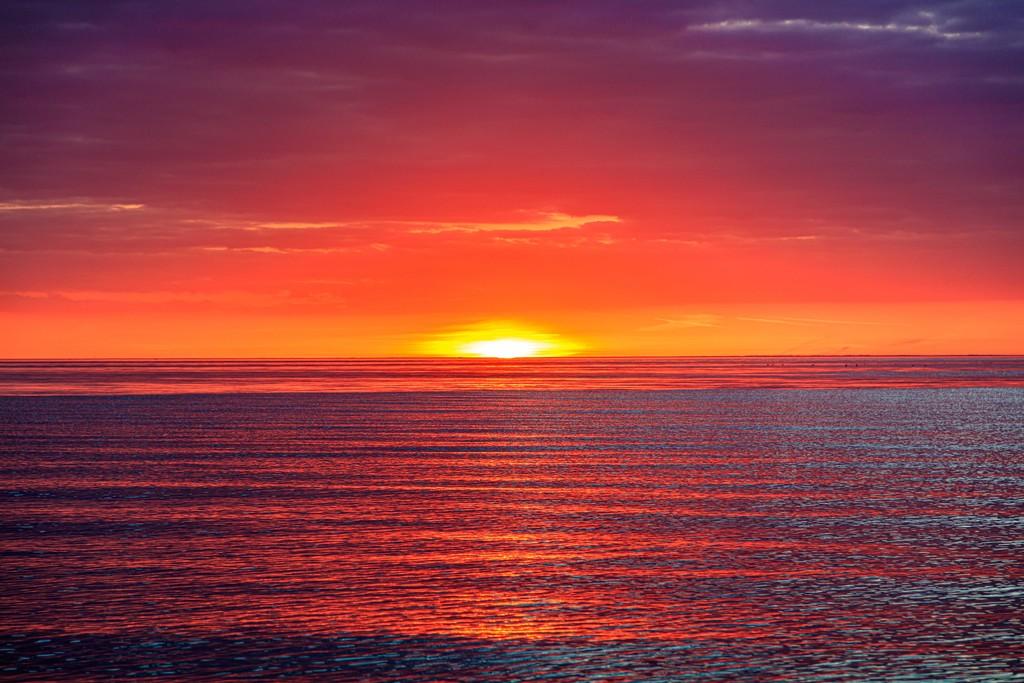 Norfolk Sunset by padlock