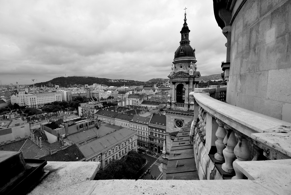 On the top of St. Stephen's Basilica by kork