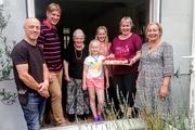 23rd Jun 2019 - Strawberry cake