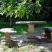Garden rest pad