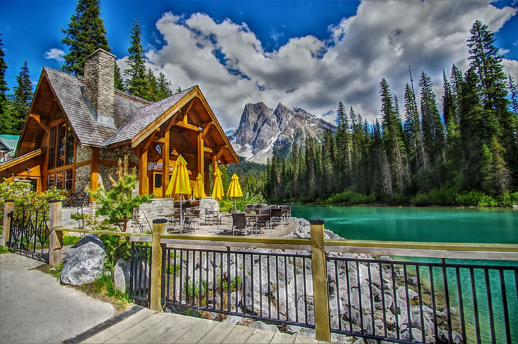 Emerald Lake, BC in the Canadian Rockies by radiogirl
