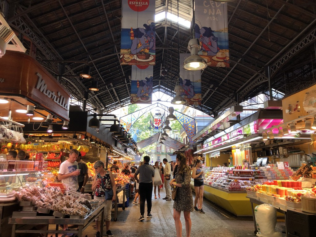 Boqueria Market by loweygrace