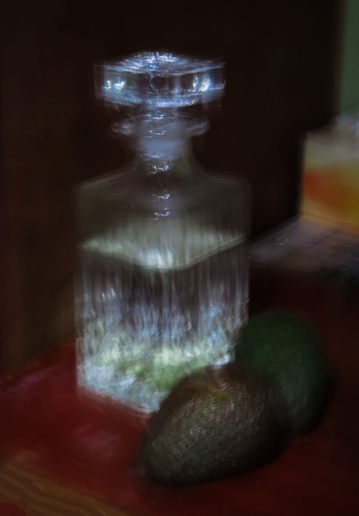 decanter with avocados by kali66