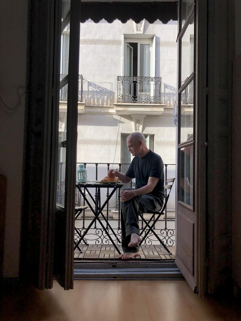 Breakfast in Madrid by loweygrace
