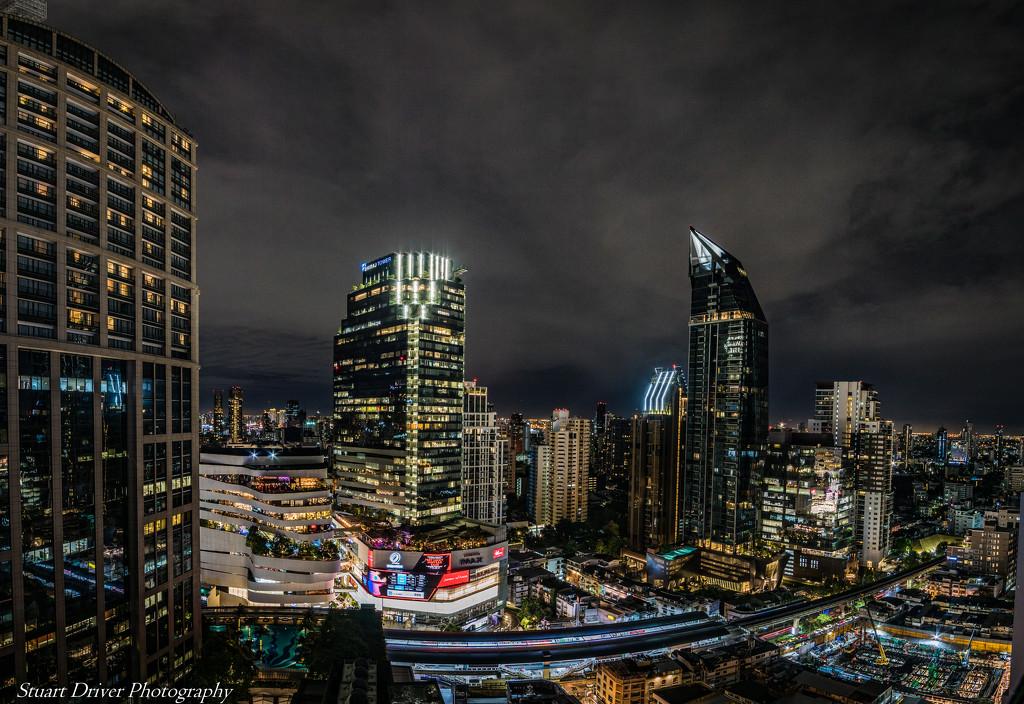 Bangkok Skyline by pasttheirprime