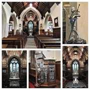 30th Jun 2019 -  Sandringham Church - The Interior