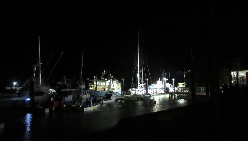 Cooktown Marina at night by robz