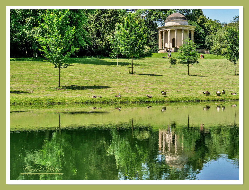 The Temple Of Easy Virtue,Stowe Gardens by carolmw