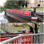2nd Jul 2019 - Going through the lock