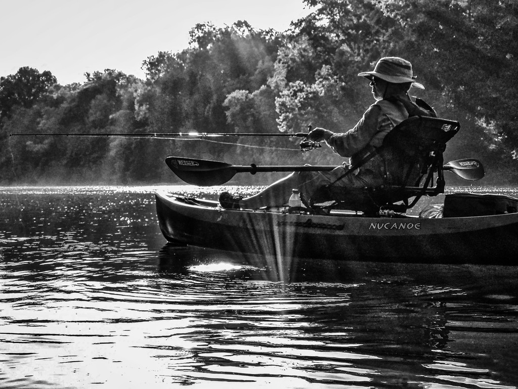 Fishing in the Sunshine by kvphoto