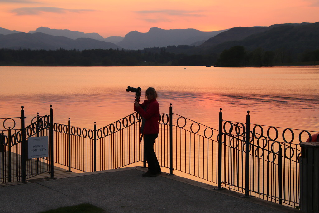 Photographing the sunset by shepherdman