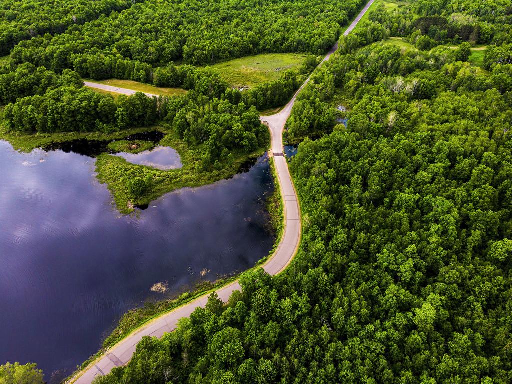 Western Wisconsin - Air view by jeffjones