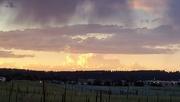3rd Jul 2019 - Rainclouds at Dusk