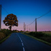 The road south from Vignouse at dusk... by vignouse