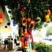 Street decorations at Maleny Knitfest today