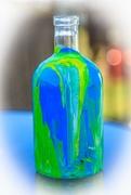 6th Jul 2019 - Acrylic bottle pour 1