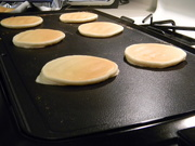 7th Jul 2019 - Pancakes on Griddle