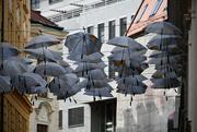 7th Jul 2019 - Umbrellas in the sky